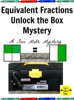 Are you looking for a fun way to review equivalent fractions? Your students will collaborate and problem solve with this Unlock the Box Mystery.