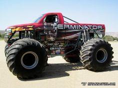 terminator monster truck