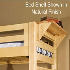 Image result for shelf ideas for top bunk