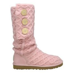 pink knit uggs