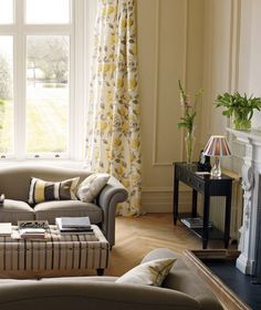Image result for room schemes with hydrangea camomile living room