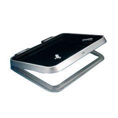 barcos.online Escotilla Gebo Aluminio Anodizado 680x680mm
