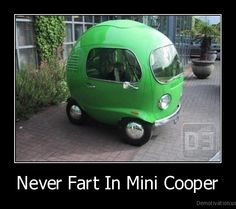 Word of advice to Mini Cooper fans..