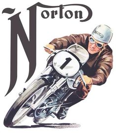 Norton..   Skull, Gift, Biker, Motorcycle, Men, Women, Holiday, Fashion, Jewelry, Accessory, Leather.