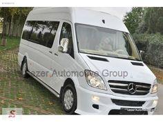 Beyaz Mercedes - Benz Sprinter