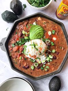 These New Orleans style red beans are full of flavor from spices, chicken, and andouille sausage, all coated in a velvety smooth sauce. Sin Gluten, Gluten Free Soup, Dairy Free, Organic Chicken, Red Beans, Food Allergies, My Favorite Food, Food Photography, Photography Composition