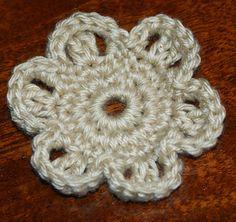 Ravelry: Easy Crochet Flower Motif pattern by Amy Solovay