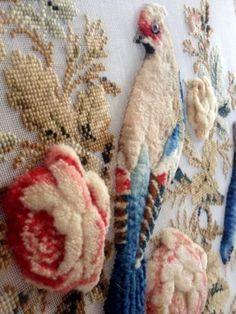 Милые сердцу штучки: Викторианская вышивка в стиле Berlin Woolwork с элементами Velvet Stitch