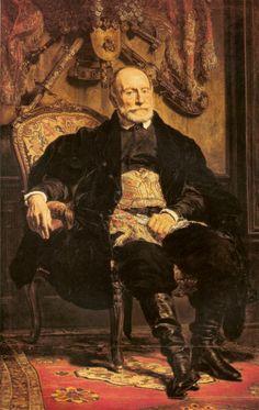 Portrait of Piotr Moszynski - Jan Matejko