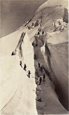 Subida al Mont Blanc de Auguste-Rosalie Bisson 1861