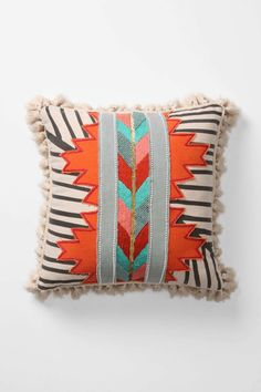 anthro boho cushion