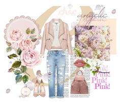 """""""Fresh and flirty"""" by fgeorgiaa on Polyvore featuring Genetic Denim, Zizzi, Lipsy, Lime Crime, Semilla, Topshop, Chanel and Michael Kors"""