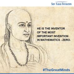Aryabhatta, known as the first of the major mathematician astronomers, was one of the #GreatMinds of #Indian #history