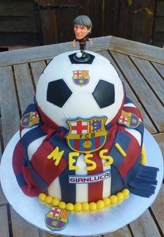 Barcelona Birthday Cake ideas