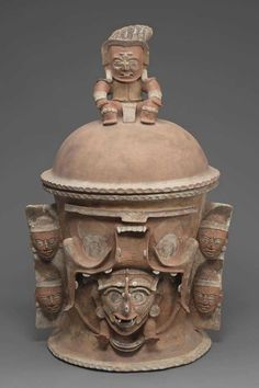 K'iché burial or cache urn base Maya , A.D. 650–850. -1