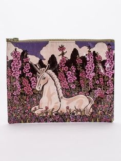 Floral Unicorn Zipper Pouch pencil case makeup bag pink medieval art illustrated | Clothing, Shoes & Accessories, Women's Handbags & Bags, Handbag Accessories | eBay!