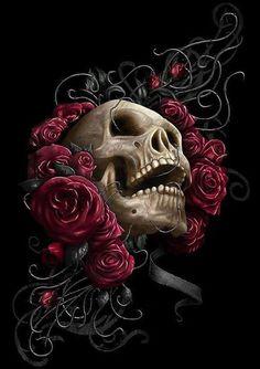 Skull - Nice tattoo idea