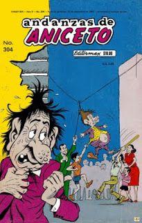 Comics Mexicanos de Jediskater: Andanzas de Aniceto No. 304 ...