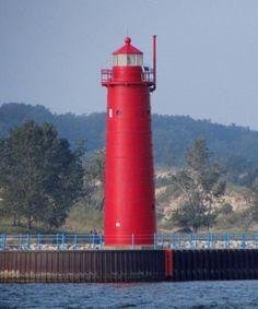 Muskegon South Pierhead #Light    http://dennisharper.lnf.com/