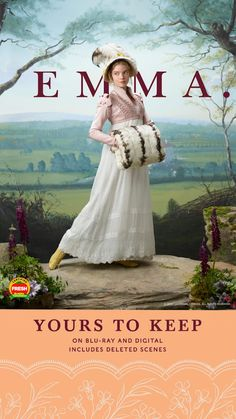 Own the most joyfully entertaining movie of the season. Now with deleted scenes, gag reel, and a behind-the-scenes look! Anya Joy, Anya Taylor Joy, Emma Movie, Joy Movie, Period Drama Movies, Period Dramas, Emma Jane Austen, Emma Woodhouse, Romance Movies