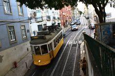 il famoso tram 28 di Lisbona