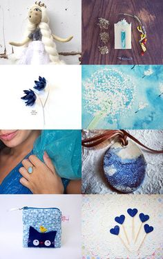 Desperately... blue. by Mammabook on Etsy--Pinned with TreasuryPin.com