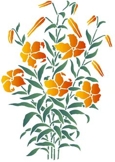 Photo : Stencil Designs Catalogue From Stencil Kingdom Images Stencil Designs, Designs To Draw, Drawing Designs, Pineapple Planting, Sand Glass, Flower Outline, Silhouette Art, Vector Design, Paper Cutting