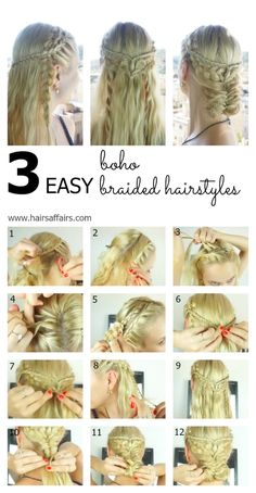 3 easy boho braided hairstyles https://hairsaffairs.com/3-easy-boho-braided-hairstyles/ ‎