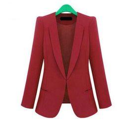 23819e8bb39 New Spring 2017 Women Blazers plus size fashion female slim blazer Ol Candy  Color suit jacket