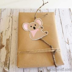 Cute Koalas to Print & Cut. Free Silhouette Cutting File.