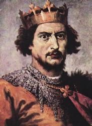 Bolesław II (1041/1042 - 1081/1082). Duke of Poland from 1058 until 1076, and then King from 1076 until 1079. He married Wyszeslawa of Kiev and had one child.