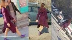'아프칸 최강 노출녀' 종아리 훤히 드러낸 채 활보 http://i.wik.im/200584