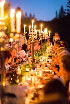 Brides.com: . Guests nibbled on chips and salsa as they sat at banquet-style tables and awaited dinner—a kale and burrata salad served with rib-eye steak and bread knots.