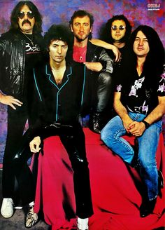 Deep Purple. OKEJ magazine(Sweden). 1984