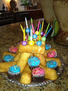 Redneck Birthday Cake