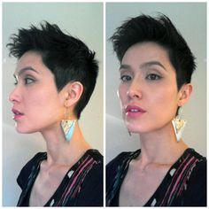 Short Hair Inspiration: Undercut