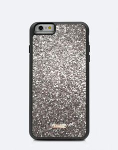 funda-glitter-plateado Bling Bling, Color Plata, Iphone, Silver Glitter, Phone Cases, Blog, Glitter, Mobile Cases, Phone Case