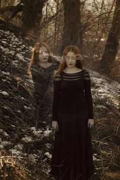 Optical illusions with photography For Gemini the dark twin Maja Topcagic