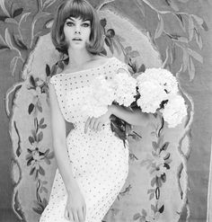 Jean Shrimpton photographed by John French   1961   #vintage #1960s #fashion