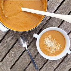 Spicy Thai Squash Soup
