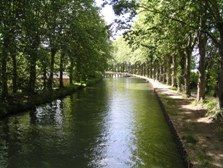 Canal du Midi near Tonneins Canal Du Midi, French Country House, Natural Materials, Nature, Image, Seeds, French Farmhouse, Naturaleza, Nature Illustration