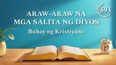 Araw-araw na mga Salita ng Diyos | Sipi 593 Christian Movies, Christian Life, Ignorance, Praise And Worship Songs, Nova Era, Saint Esprit, Daily Word, Tagalog, Knowing God