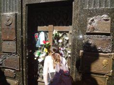 Aqui jaz Eva Perón. Cemitério Recoleta. #BuenosAires #Argentina