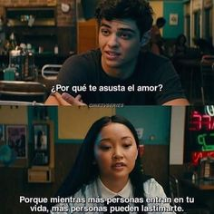 Phrases from the movie To All the Boys That Love Me - Rebeca's Area Lara Jean, I Still Love You, Sad Love, Gossip Girl, Crying Meme, Sad Texts, Love Phrases, Spanish Quotes, Tfios