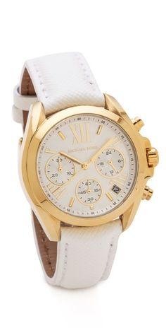 Michael Kors Leather Bradshaw Watch | SHOPBOP