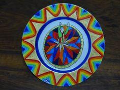 Ceramic Art   https://www.facebook.com/ZakharefArts   #Sufi #dancer #pattern