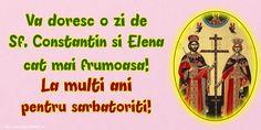 Sf Constantin, Mai