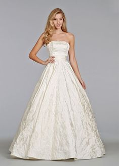 WOW! Wedding Gowns With Textured Skirts #weddingdress #weddinggown #texturedskirt