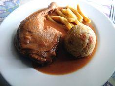 Duck or Chicken Legs in Ragu Sauce