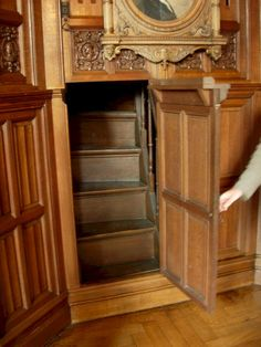 The Most Incredibly Overlooked Solution For Hidden Rooms In Houses Secret Pa… - Traumhaus Zimmer Murphy Door, Hidden Spaces, Tiny Spaces, Secret Space, Cool Rooms, Awesome Bedrooms, Victorian Homes, Victorian Bedroom, Victorian Interiors